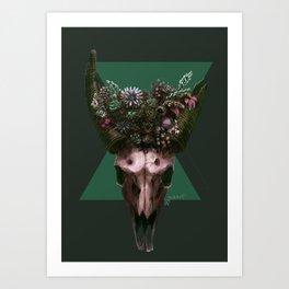 Triangle B-sides Art Print