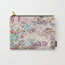 Charlottesville map Virginia Carry-All Pouch