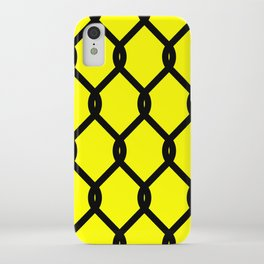 Chain-Link Fence (from Design Machine archives) iPhone Case