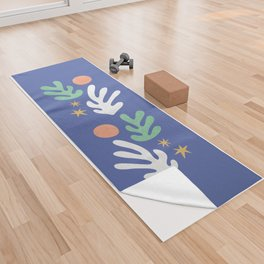 Inspired by Matisse - Seagrass and Sun 1.2  Yoga Towel