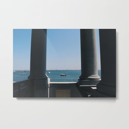 Plymouth Boats Metal Print