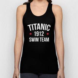 Swim Team Funny Quote Unisex Tank Top