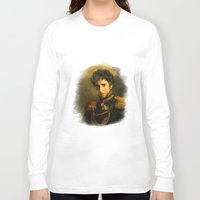 replaceface Long Sleeve T-shirts featuring Bob Dylan - replaceface by replaceface