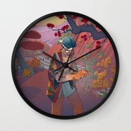 Ukiyo-e tale: The curse Wall Clock