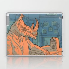 Being a rhino like a sir Laptop & iPad Skin