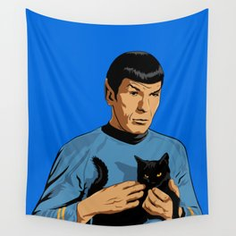 Spock's cat Wall Tapestry