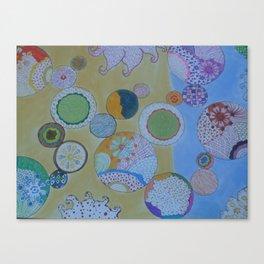 Circle Around Canvas Print