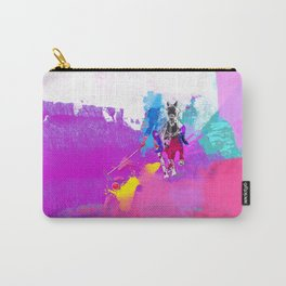polo abstract Carry-All Pouch