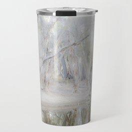 Paperbark Trees along Beaufort River Travel Mug