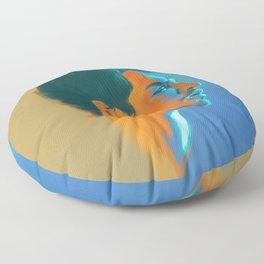 Klaus Hargreeves Oil Paints - Umbrella Academy  Floor Pillow