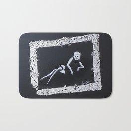 Framed Marilyn Bath Mat