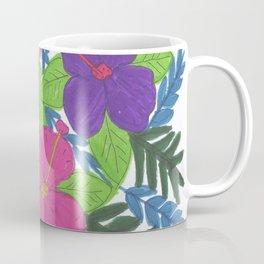 Tropical Hibiscus Bouquet Coffee Mug