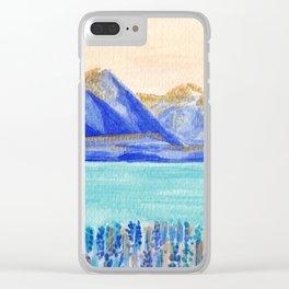 Lake Tekapo, New Zealand Clear iPhone Case