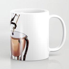 Beetle Tries Timpani Coffee Mug