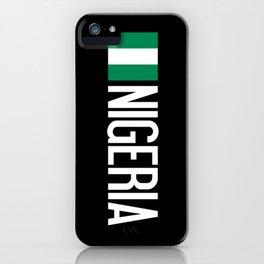 Nigeria: Nigerian Flag & Nigeria iPhone Case