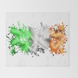 Irish Sparkle Throw Blanket