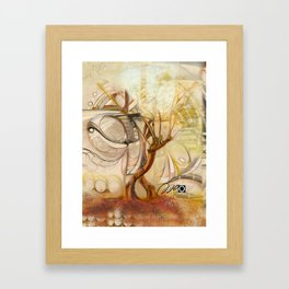 Axis Mundi V Framed Art Print