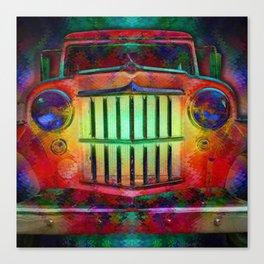 Jump Like A Willys - Sugar Magnolia, Grateful Dead Canvas Print