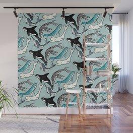Whale Skin Wall Mural