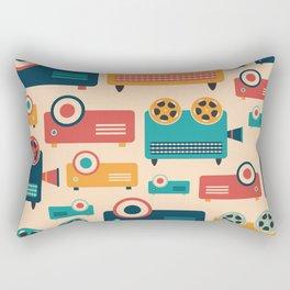 Retro Projectors Rectangular Pillow
