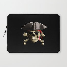 The Jolly Roger Pirate Skull Laptop Sleeve