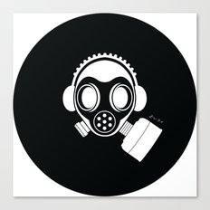 Post World Zuno : Gas Mask 04 Canvas Print