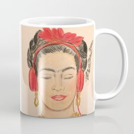 The Modernization of Frida Coffee Mug