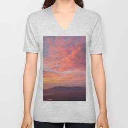 Haleakala Summit Sunset Unisex V-Neck