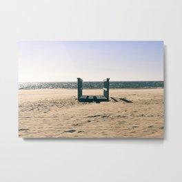 Empty Beach Metal Print