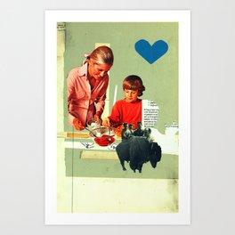 teaching rejection Art Print