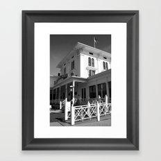 The Gelston House  Framed Art Print