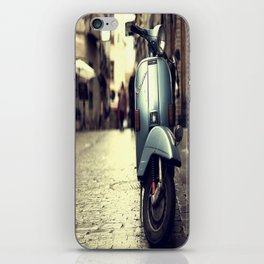 Rainy Day Vespa iPhone Skin