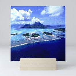 Bora Bora Island Tropical Paradise Mini Art Print