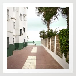 Road to the Beach - Landscape Photography Art Print