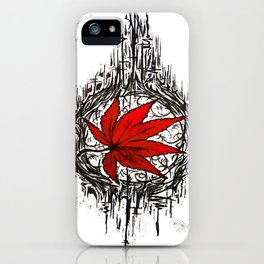 Tribe Maple iPhone Case