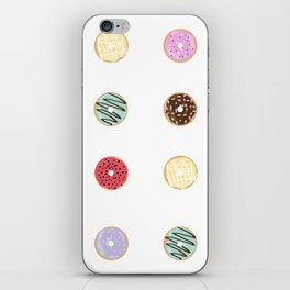 Donut Worry iPhone Skin