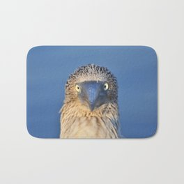 Blue footed booby Bath Mat