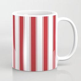 Stripes -Red Coffee Mug
