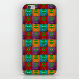 TMNT Collection iPhone Skin