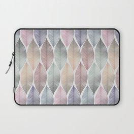 Metallic Leaf Pattern Laptop Sleeve