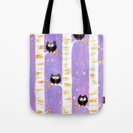 Four Owls Tote Bag