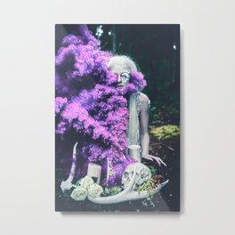 Vampire Flower (Edit 1) Metal Print