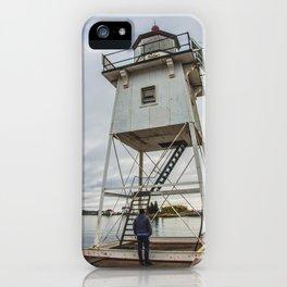 Grand Marais Lighthouse, Grand Marais, Minnesota 6 iPhone Case