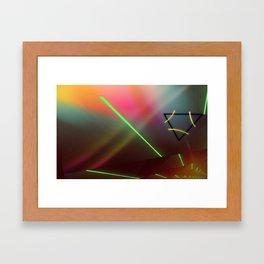 Lucid 22, Viola Framed Art Print