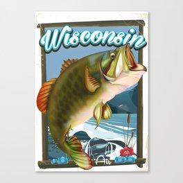 Wisconsin Fishing Canvas Print