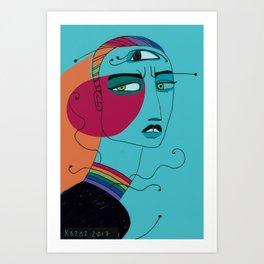 Fashion Angst Art Print