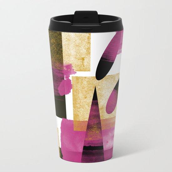 Abstract Mother Art Metal Travel Mug