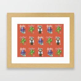 Token Family - Cthulhu MtG Framed Art Print