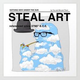 STEAL ART Art Print