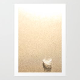 Light as a  Art Print